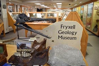 Fryxell Geology Museum. Augustana College, Rock Island, IL.