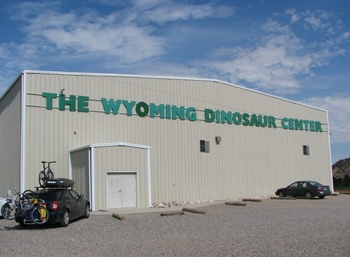 Wyoming Dinosaur Center, Thermopolis, WY.