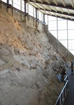 Quarry wall, Dinosaur National Monument, Vernal, UT.
