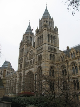 Natural History Museum, London, England.