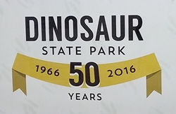 Celebrating the 50th anniversary of Dinosaur State Park, Rocky Hill, CT.