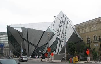 Exterior, Royal Ontario Museum, Toronto, Ontario.